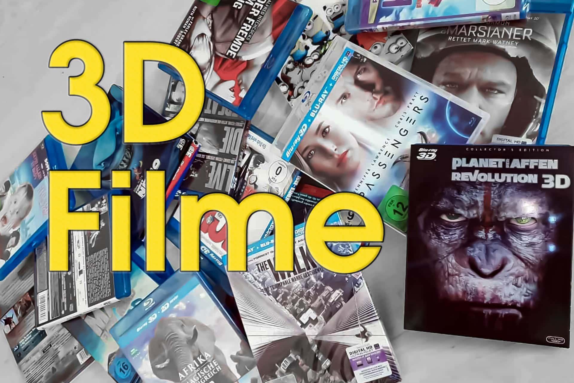 3d filme auf bluray