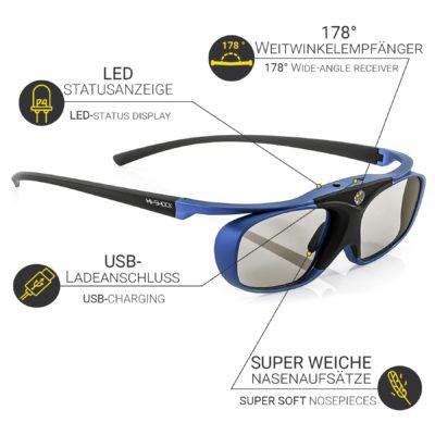 Samsung 3D Brille: Alternativen