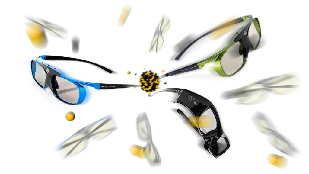 hi Shock 3D DLP Link Brillen