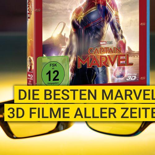 Die besten Marvel 3D Filme aller Zeiten
